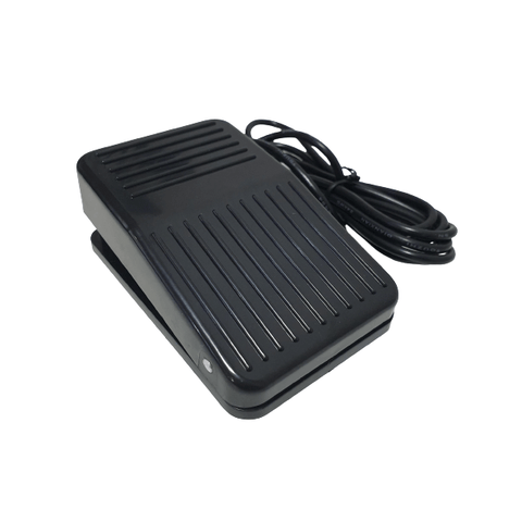 Ergonomic Ramp Foot Pedal - Black