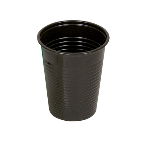Black Disposable Rinse Cups x 100