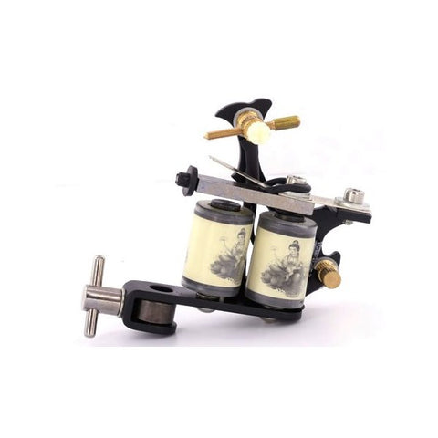 Unbranded Tattoo Machine - Black - magnumtattoosupplies