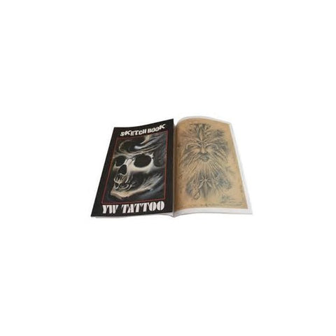 YW Tattoo Sketch Book - magnumtattoosupplies