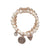 Statement Jewellery - Bracelet - Rose Gold and Pearls