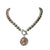 Statement Jewellery - Necklace - Silver & Rose Gold