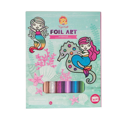 Foil Art - Mermaids by Tiger Tribe, Toys, Tiger Tribe - The Raindrops and Lollipops Shop