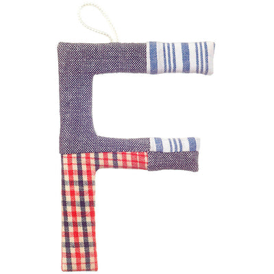 TOSHI | Fabric Covered Letters A-Z - Amigo, Toshi Alphabet, Toshi - Raindrops and Lollipops