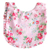 Alimrose Ruffle Bib Spring Floral, Bib, Alimrose Designs - The Raindrops and Lollipops Shop