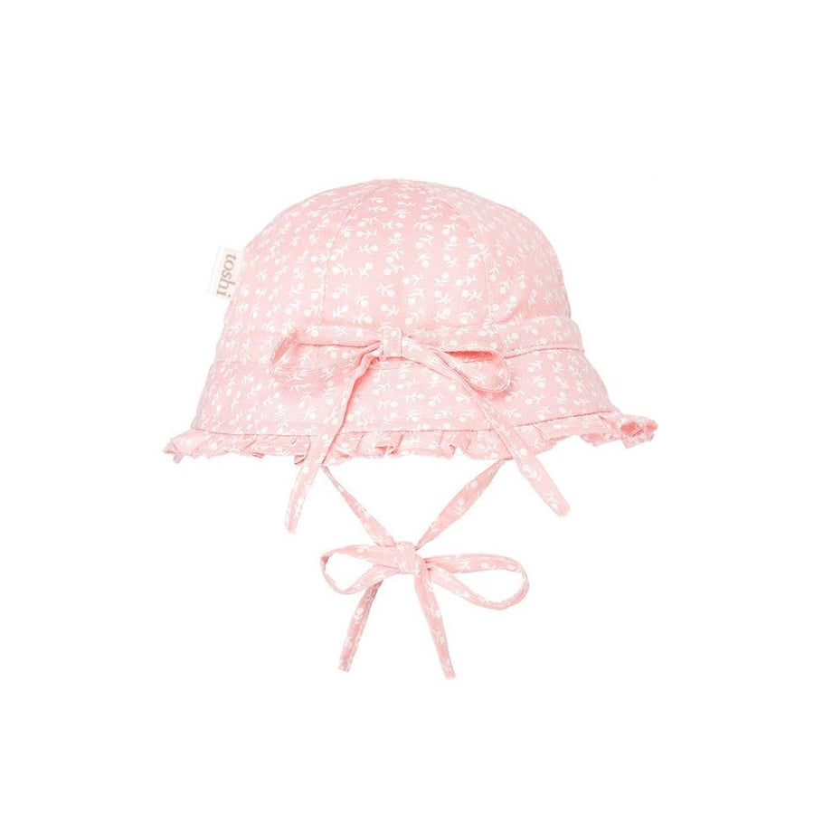 Toshi Bell Hat Lucy Blush, Bell Hat, Toshi - The Raindrops and Lollipops Shop