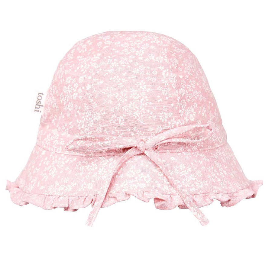 Toshi Bell Hat Mae Blush, Bell Hat, Toshi - The Raindrops and Lollipops Shop