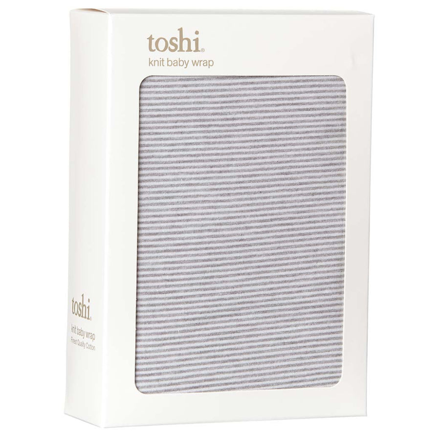 TOSHI | Wrap Knit Stripe Dove