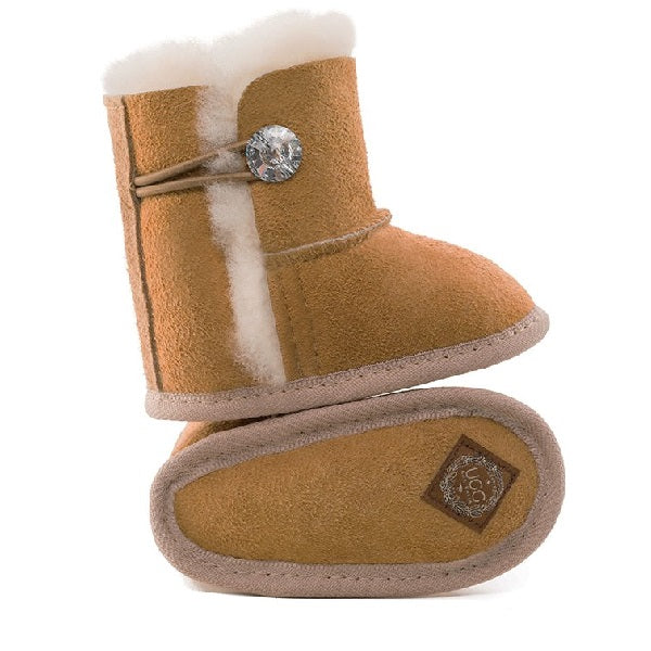 SNUG UGG Baby Joey Zsa Zsa Boots with Swarovski detail, Booties, UGG Australia - The Raindrops and Lollipops Shop