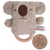 O.B Designs Rattle Teething Ring  Keith Koala DINGaRINGs