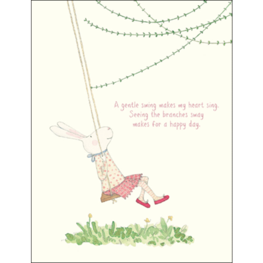 RUBY RED SHOES | A Gentle Swing Makes My Heart Sing
