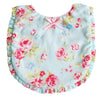 Alimrose Ruffle Edge Bib Blue, Bib, Alimrose Designs - The Raindrops and Lollipops Shop