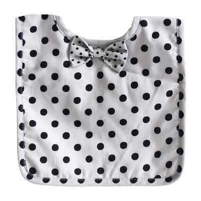 Alimrose Bow Tie Bib - Swiss Cross, Bib, Alimrose Designs - The Raindrops and Lollipops Shop