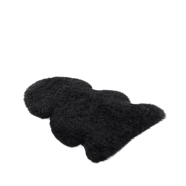 Long Merino Sheepskin Rug - Black, Rugs, UGG Australia - The Raindrops and Lollipops Shop