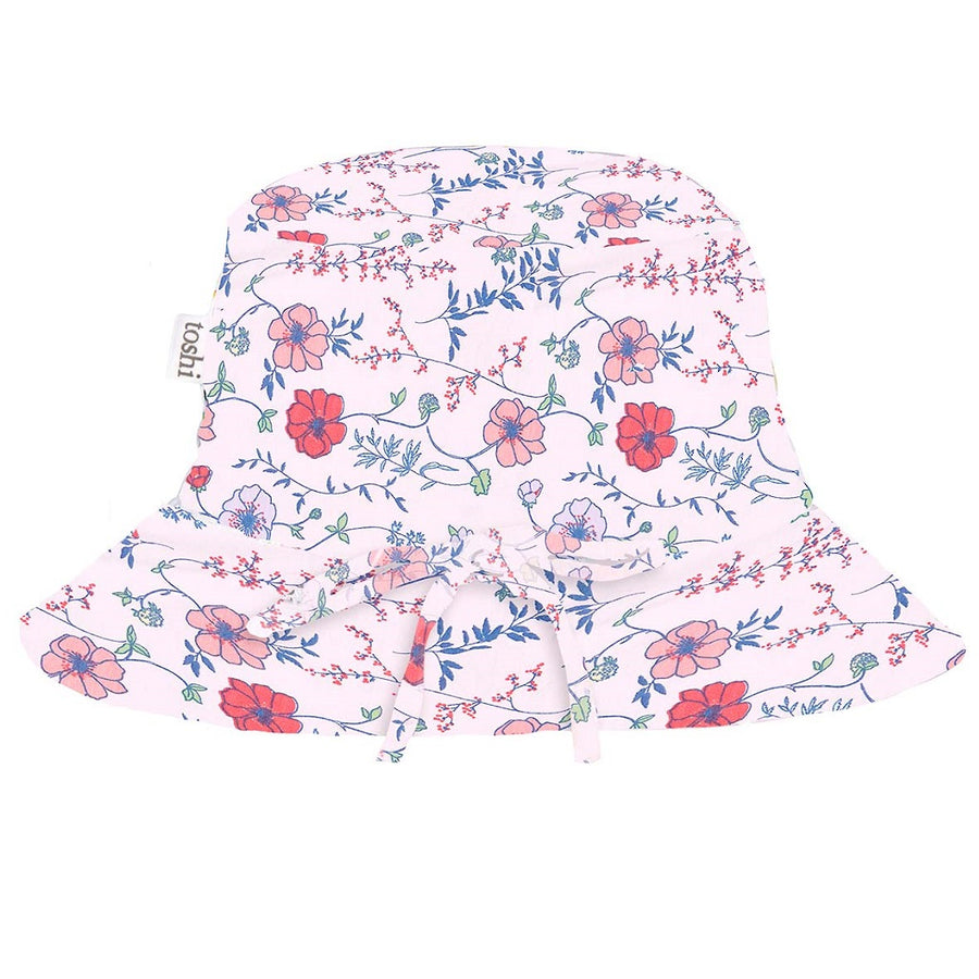 Toshi Sunhat Floral Jemima, Sun Hat, Toshi - The Raindrops and Lollipops Shop