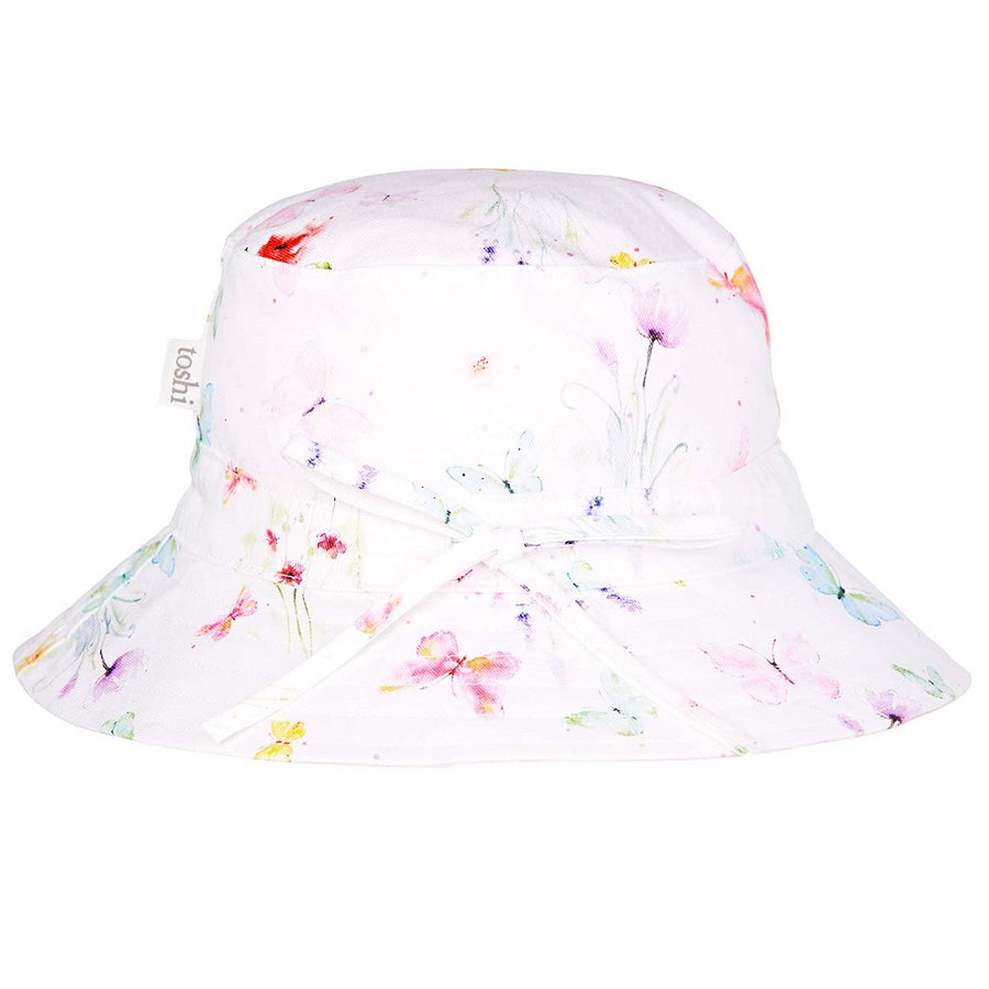 Toshi Sunhat Floral Lucille, Sun Hat, Toshi - The Raindrops and Lollipops Shop