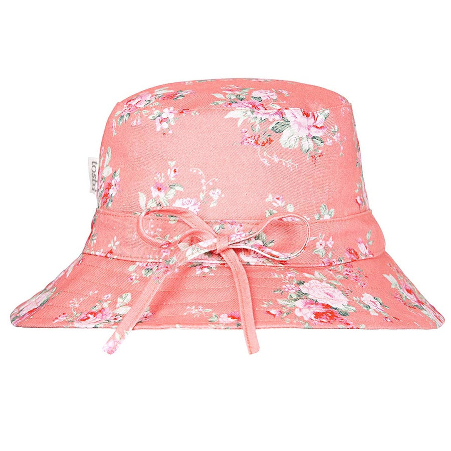 Toshi Sunhat Primrose Cherry, Sun Hat, Toshi - The Raindrops and Lollipops Shop