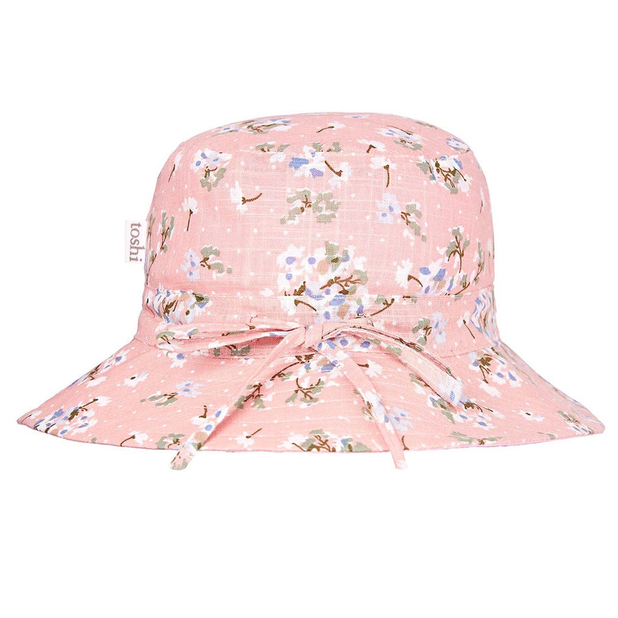 Toshi Sunhat Twiggy Blush, Sun Hat, Toshi - The Raindrops and Lollipops Shop