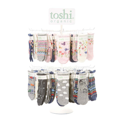 Toshi Organic Baby Socks Clouds, Socks, Toshi - The Raindrops and Lollipops Shop