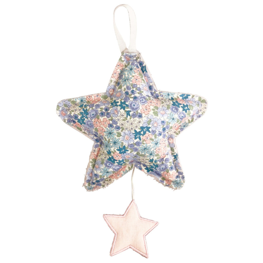 ALIMROSE | Star Musical Pink Linen & Liberty Blue
