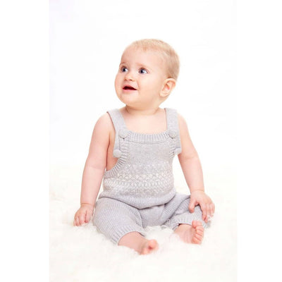 Toshi Organic Overalls Picco Dove, Overalls, Toshi - The Raindrops and Lollipops Shop