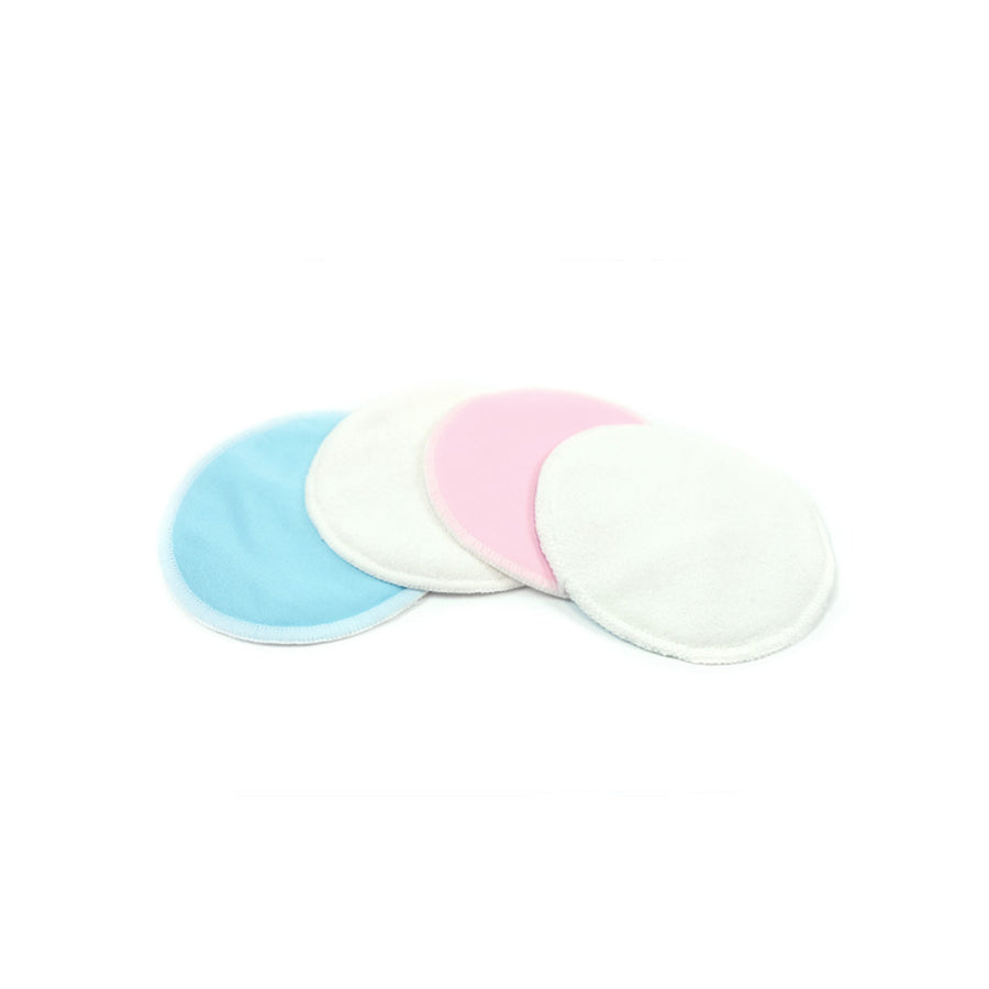 MOOIMOM | Washable Breast Pads - 4pcs, Breastfeeding Supplies, MOOIMOM - Raindrops and Lollipops