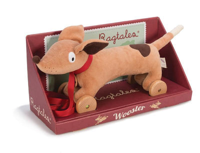 Kaleidoscope Active Toys Ragtales-Wooster-Pull Along