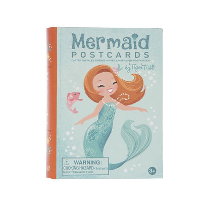 Tiger Tribe Activity Set Mermaid Postcard - by Tiger Tribe