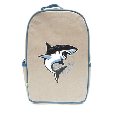 Apple and Mint Back Pack Apple & Mint - Shark Big Kid Backpack
