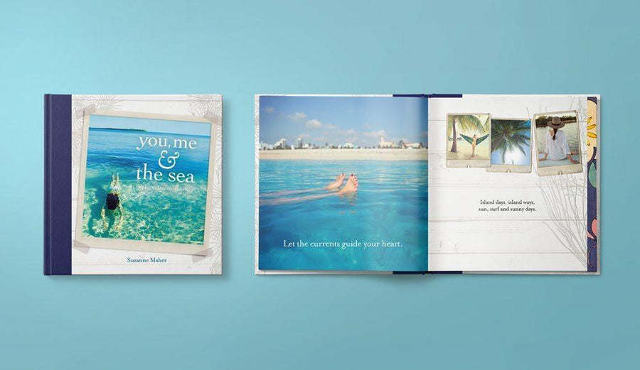 Affirmations Books You Me & The Sea by Suzanne Maher