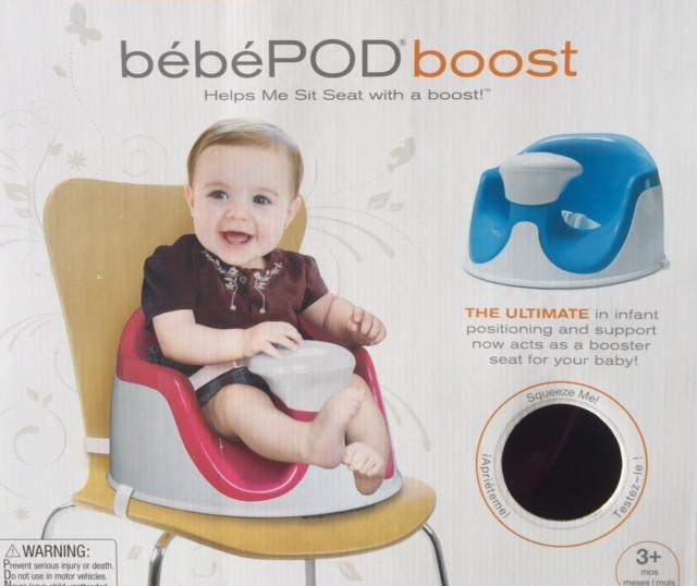 Bloom & Grow Booster Seat Bebe POD boost