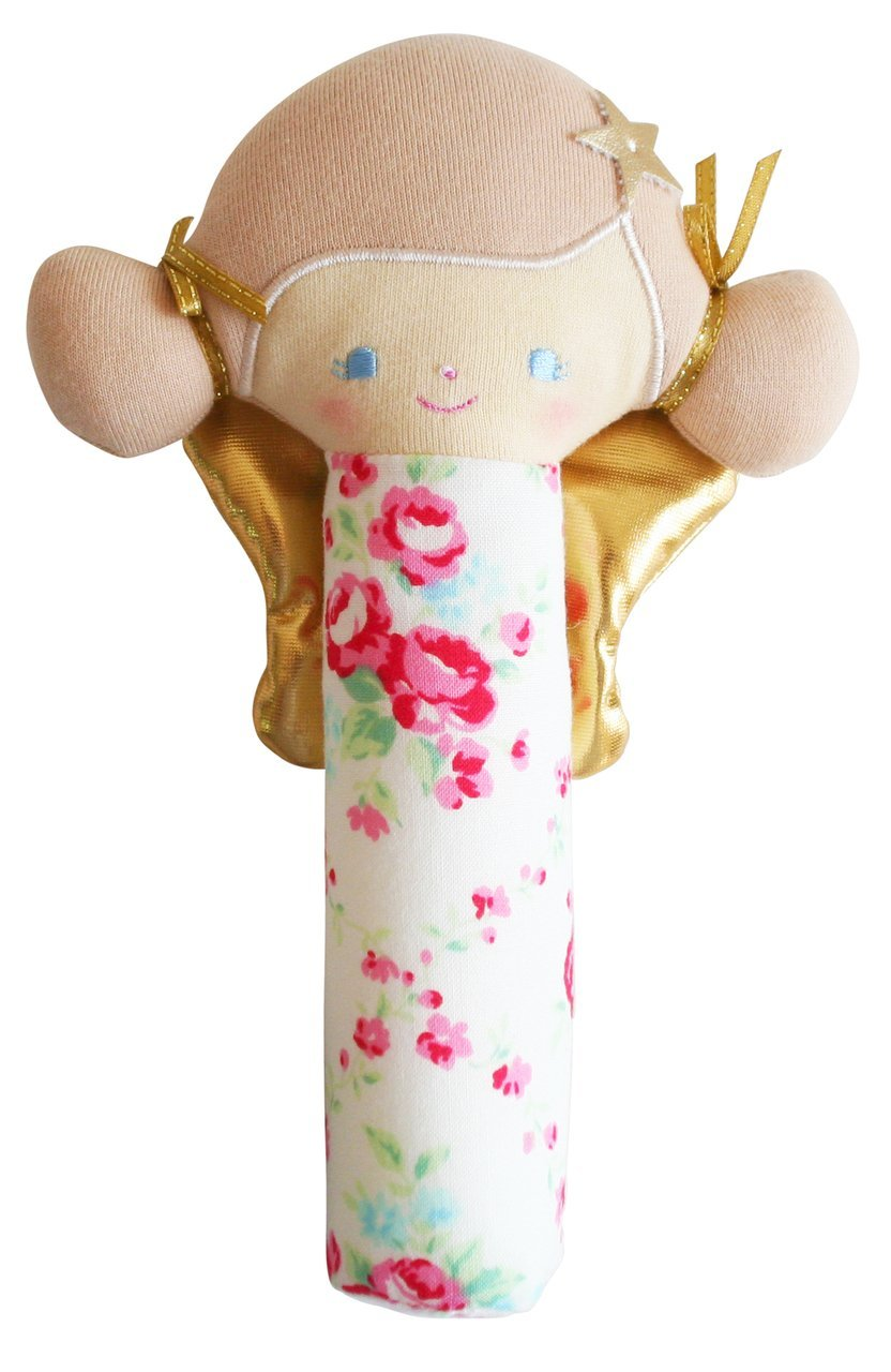 Alimrose Willow Fairy Squeaker - Pink Rose Trells