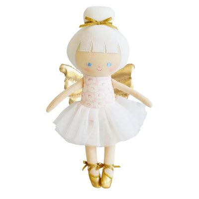 Alimrose Gracie Baby Christmas Fairy 25cm Pink Gold