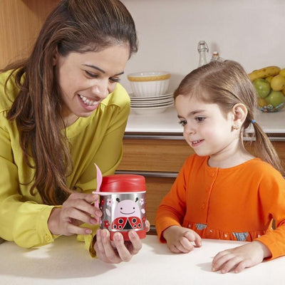 Skiphop Kids Lunch Skip Hop Zoo Insulated Food Jar - Ladybug