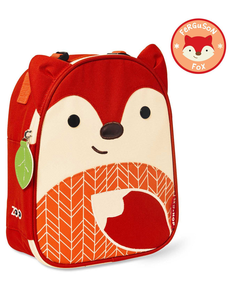 Skiphop Kids Lunch Skip Hop Zoo Lunchie-Fox