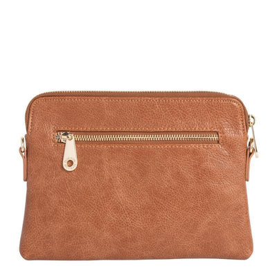 Elms and King Ladies Bowery Wallet Elms + King Bowery Wallet - Tan Pebble