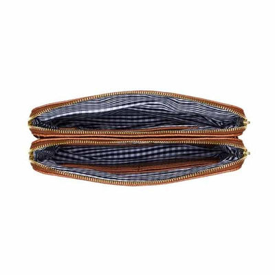 Elms and King Ladies Bowery Wallet Elms + King Bowery Wallet - Tan Python