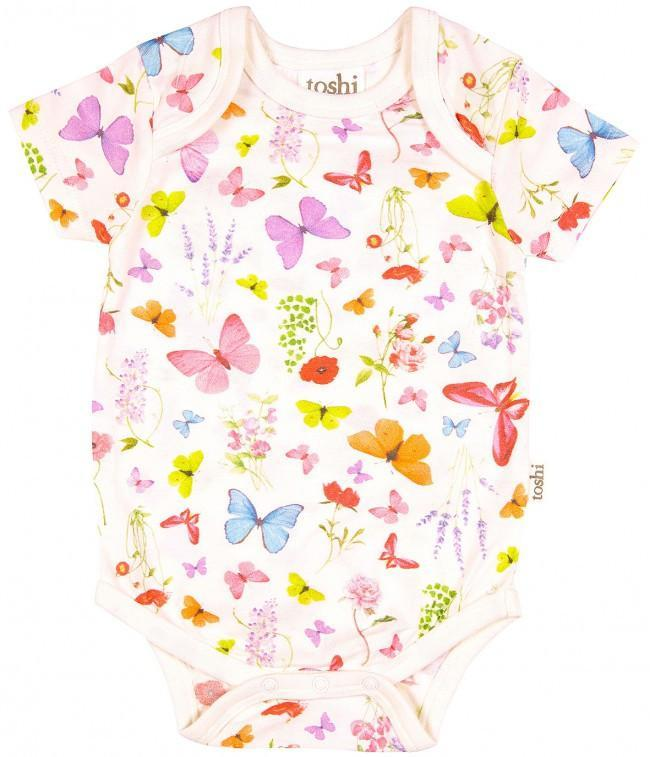 Toshi Onesies 000 Toshi Baby Onesie Butterfly