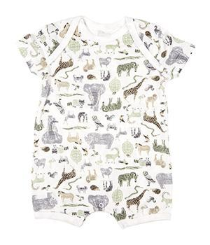 Toshi Onesies 000 Toshi Baby Onesie Short Sleeve - Jungle