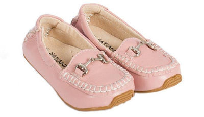 Skeanie Shoes & Boots Skeanie Children's Loafers in Pink