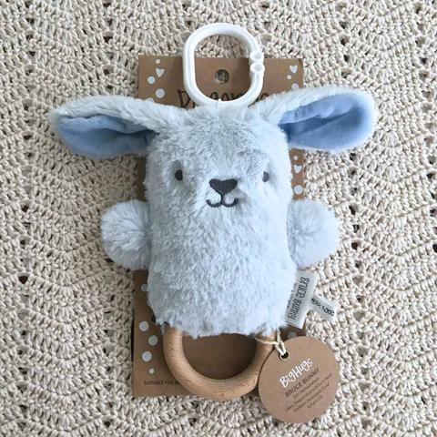 O.B. Designs Teething O.B Designs Rattle - Bruce Bunny DINGaRING Teething Ring