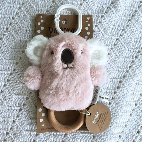 O.B. Designs Teething O.B Designs Rattle - Kate Koala DINGaRING Teething Ring