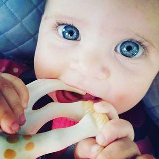 Les Folies Teething Ring So Pure Ring Teether