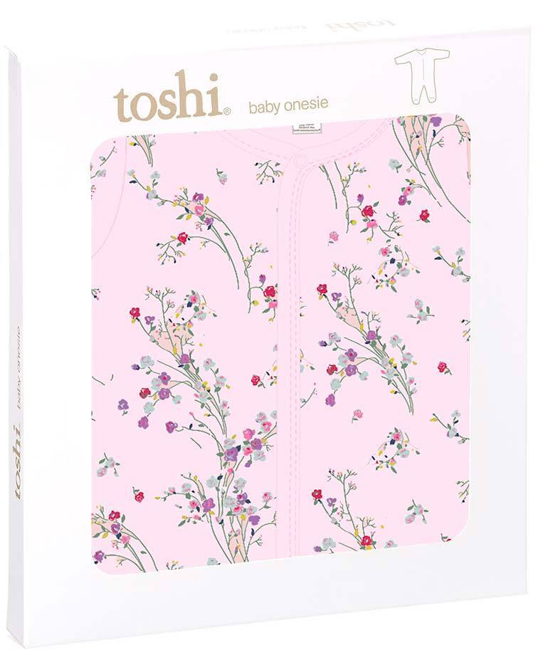 Toshi Toshi Long Sleeve Toshi Onesie Long Sleeve Print Holly