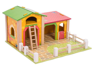 Kaleidoscope Wooden Educational Toy Le Toy Van wooden Barn
