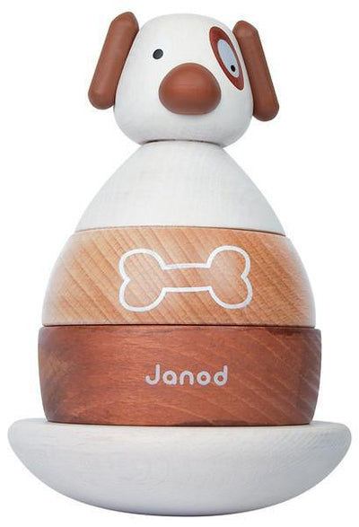 Janod Wooden Zigolos Dog Roly-Poly by Janod of France