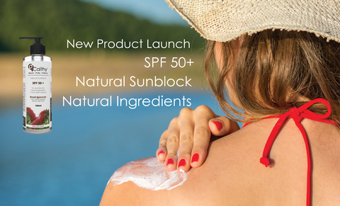 Caithy Natural Sunblock SPF 50+