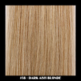 "20"" Deluxe Remi Weave Hair Extensions 140g in #18 - Dark Ash Blonde - Dolled Up Hair Extensions - 1"