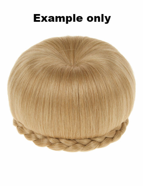 Ballerina Clip-In Hair Bun in Caramel Blonde #18/24