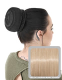 Ballerina Clip-In Hair Bun in Champagne Blonde #613/18 - Dolled Up Hair Extensions - 1
